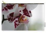 Purple Splash Orchid 1 Carry-all Pouch