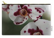 Purple Splash Orchid 2 Carry-all Pouch