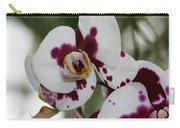 Purple Splash Orchid 3 Carry-all Pouch