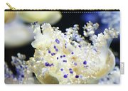 Purple Spotted Jellyfish  Carry-all Pouch