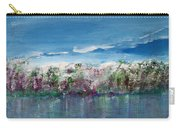 Purple Spring Landscape Carry-all Pouch