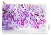 Purple Spring Lilac Flowers Blooming Carry-all Pouch
