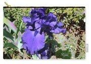 Purple Springtime Iris  Carry-all Pouch