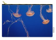 Purple Striped Jellies Carry-all Pouch