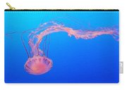 Purple Striped Jellyfish Carry-all Pouch