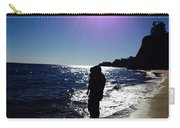 Purple Sun Evening Beach Carry-all Pouch