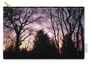 Purple Sunrise Carry-all Pouch