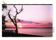 Purple Coastal Sunset Carry-all Pouch