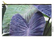 Purple Taro Carry-all Pouch