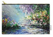 Purple Tree By The Lake Carry-all Pouch