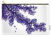 Purple Tree Carry-all Pouch