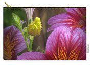 Purple Trumpets Carry-all Pouch