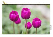 Purple Tulips 1 Carry-all Pouch