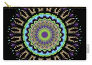 Purple Tulips Mandala Carry-all Pouch