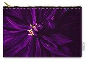 Purple Velvet Carry-all Pouch