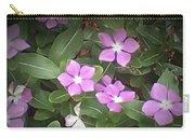 Purple Vintas Flower Photograph Carry-all Pouch