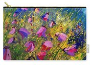 Purple Wild Flowers  Carry-all Pouch