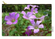 Purple Wildflowers Macro 2 Carry-all Pouch