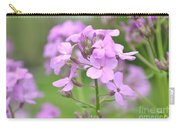 Purple Wildflowers Two Carry-all Pouch