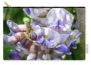 Purple Wisteria Carry-all Pouch