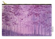 Purple Woods Carry-all Pouch