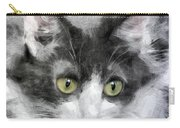 A Cat With Green Eyes Carry-all Pouch