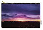 Puruple Sunset Carry-all Pouch