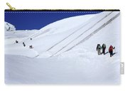 Push For The Pass, Annapurna Circuit Trek, The Himalaya, Nepal Carry-all Pouch