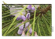 Pushing Though Or Wisteria And Long Needle Pine Carry-all Pouch