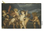 Putti In A Landscape Carry-all Pouch