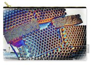 Pvc Abstract Carry-all Pouch