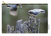 Pygmy Nuthatch In Flight Carry-all Pouch