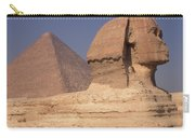 Pyramid And Sphinx Carry-all Pouch