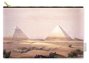 Pyramids Of Geezeh - Egypt Carry-all Pouch