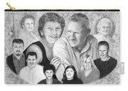 Quade Family Portrait  Carry-all Pouch