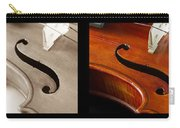 Quadriptych Of Musical Curves Carry-all Pouch
