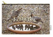 Quail Family Gathering Az Carry-all Pouch