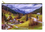 Quaint Bavarian Village Carry-all Pouch