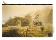 Quaint Countryside Scene Of Glen Huon Carry-all Pouch