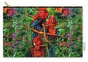 Qualia's Parrots Carry-all Pouch