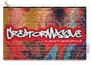 Quantum Hip Hop Carry-all Pouch by Derek Gedney