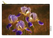Quarto Iris Carry-all Pouch by Barbara St Jean