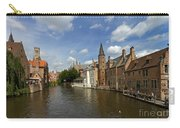Quay Of The Rosary In Bruges Belgium Carry-all Pouch