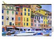 Quayside At Portofino Carry-all Pouch