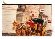 Quebec City Carriage Ride Carry-all Pouch