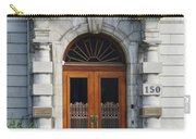 Quebec City Doors 1 Carry-all Pouch