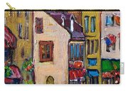 Quebec City Street Scene  Caleche Ride Carry-all Pouch