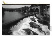 Quechee, Vermont - Falls 3 Bw Carry-all Pouch