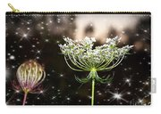 Queen Annes Lace And Sparkles At Dusk Carry-all Pouch