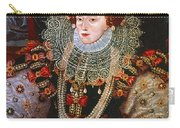 Queen Elizabeth I, C1588 Carry-all Pouch